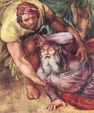 14032-the-conversion-of-saul-michelangelo-buonarroti