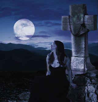 Goth cross